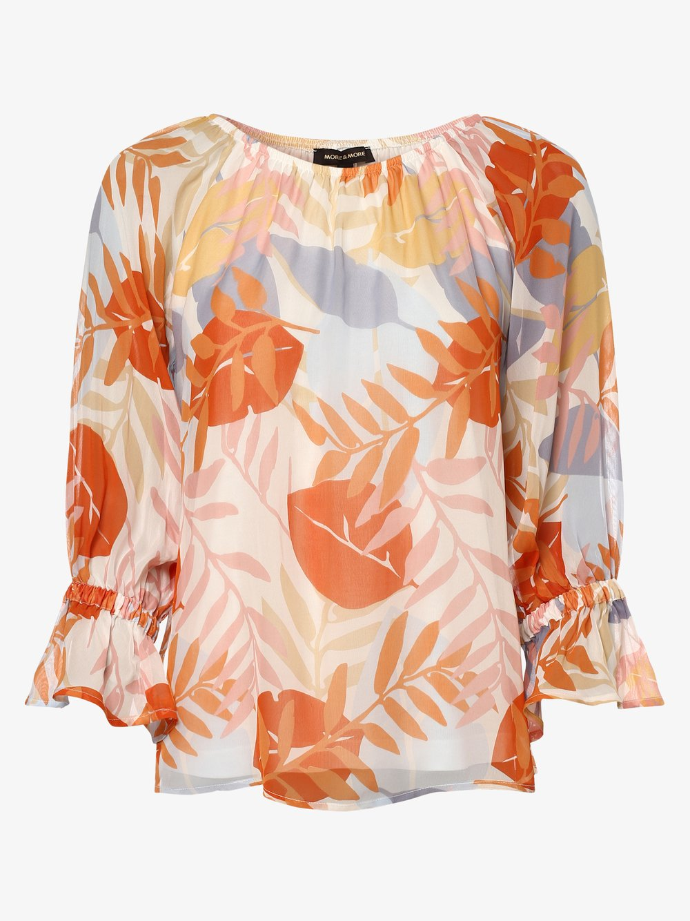 More & More – Bluzka damska, pomarańczowy Van Graaf 474181-0001-00460