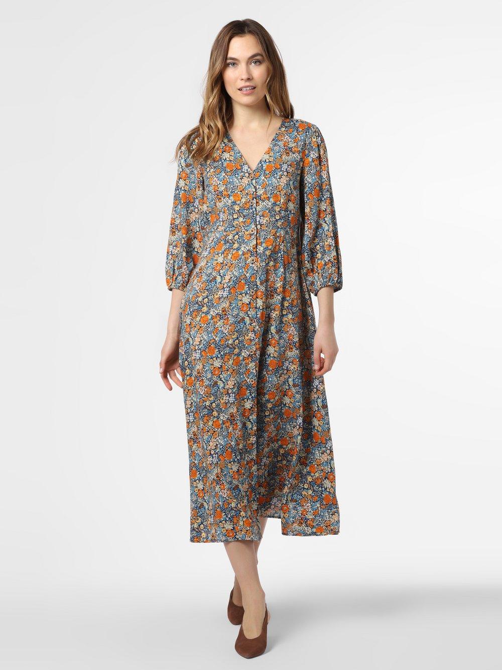 Y.A.S – Sukienka damska – Yaspepitas, niebieski Van Graaf 474298-0001