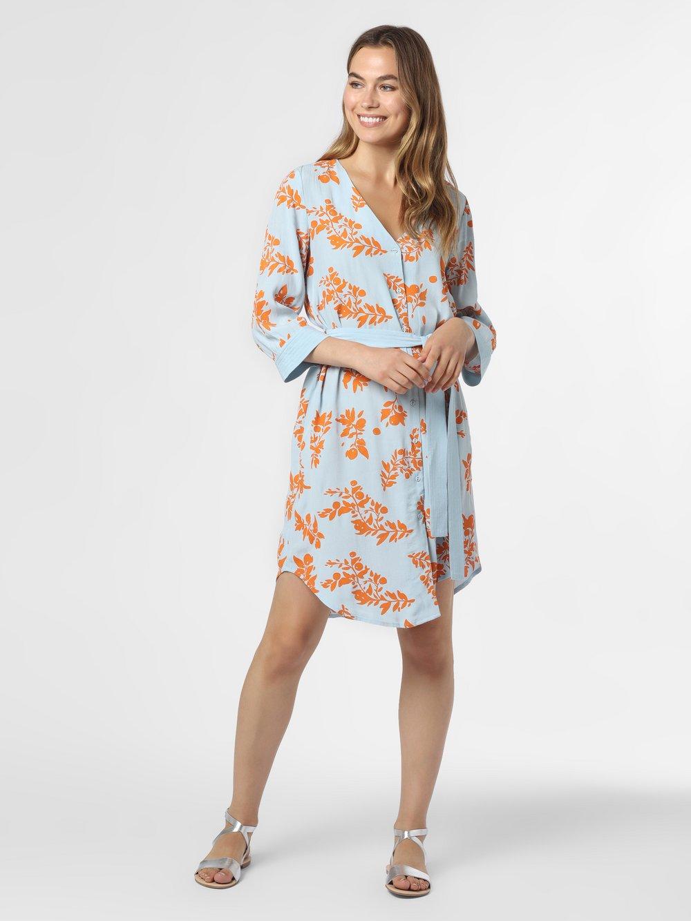 Y.A.S – Sukienka damska – YASRosea, niebieski Van Graaf 474307-0001-09960