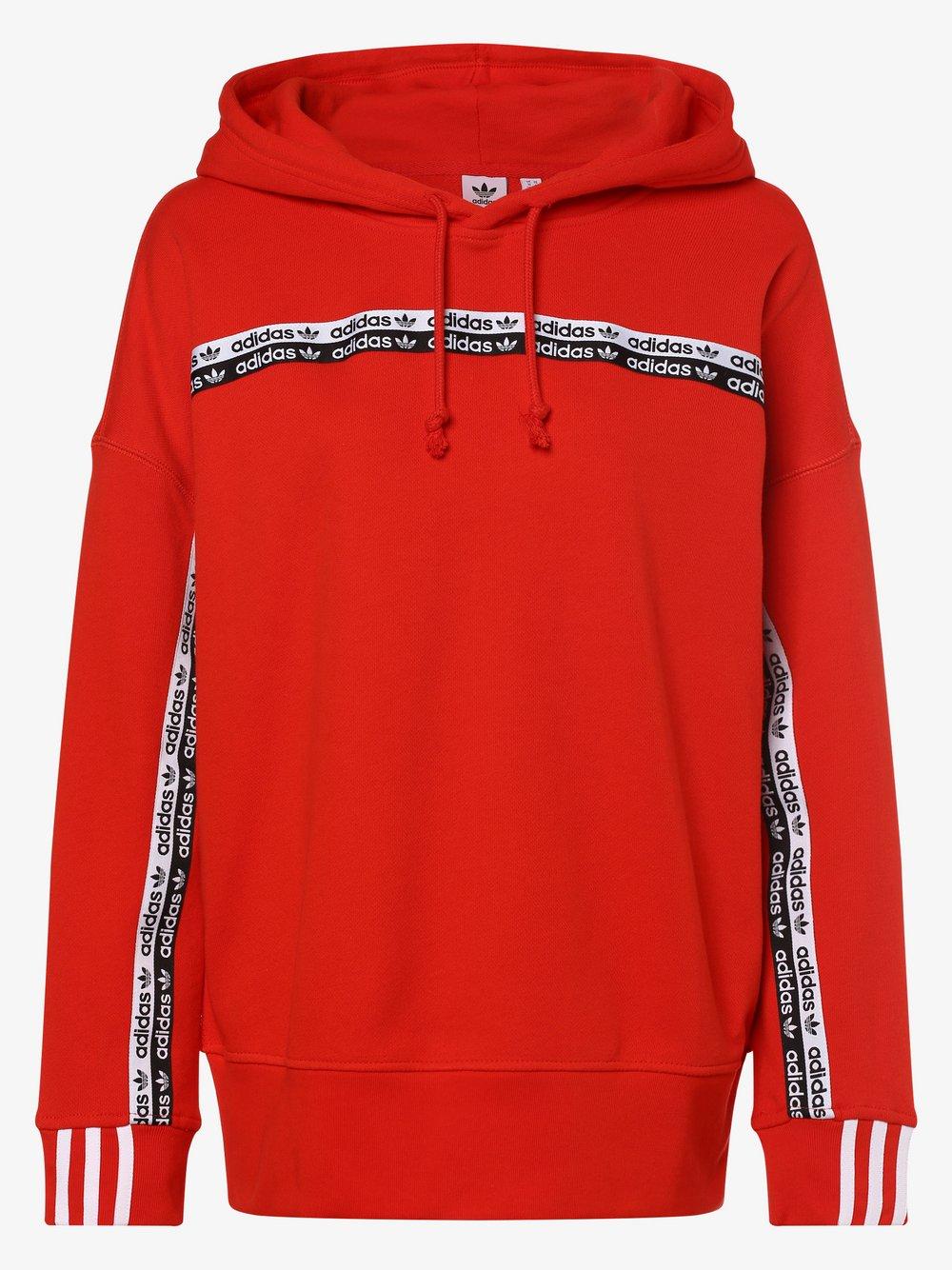 adidas Originals - Damska bluza nierozpinana, czerwony