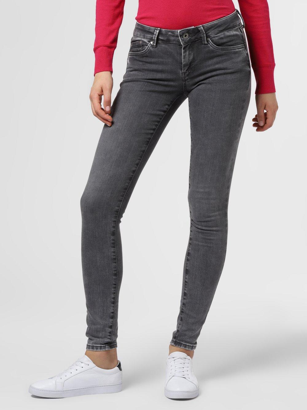 Pepe Jeans - Spodnie damskie – Pixie, szary