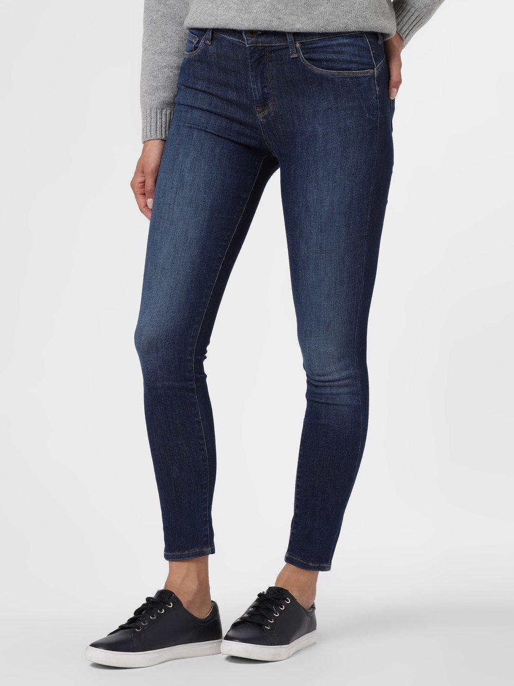 Pepe Jeans - Jeansy damskie – Zoe, niebieski