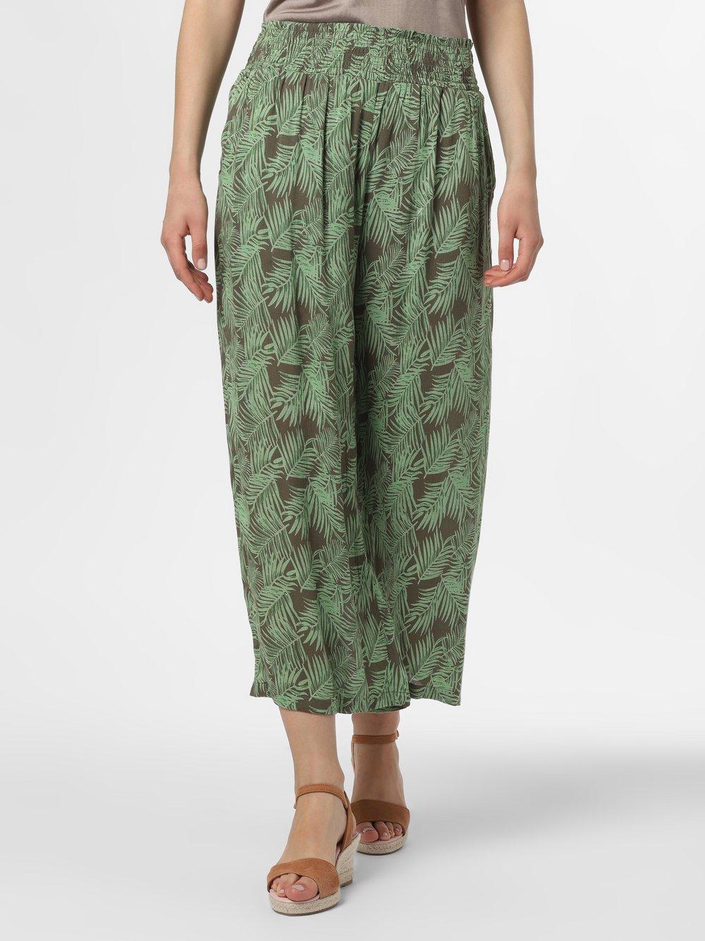 Noisy May - Spodnie damskie – Flora, zielony