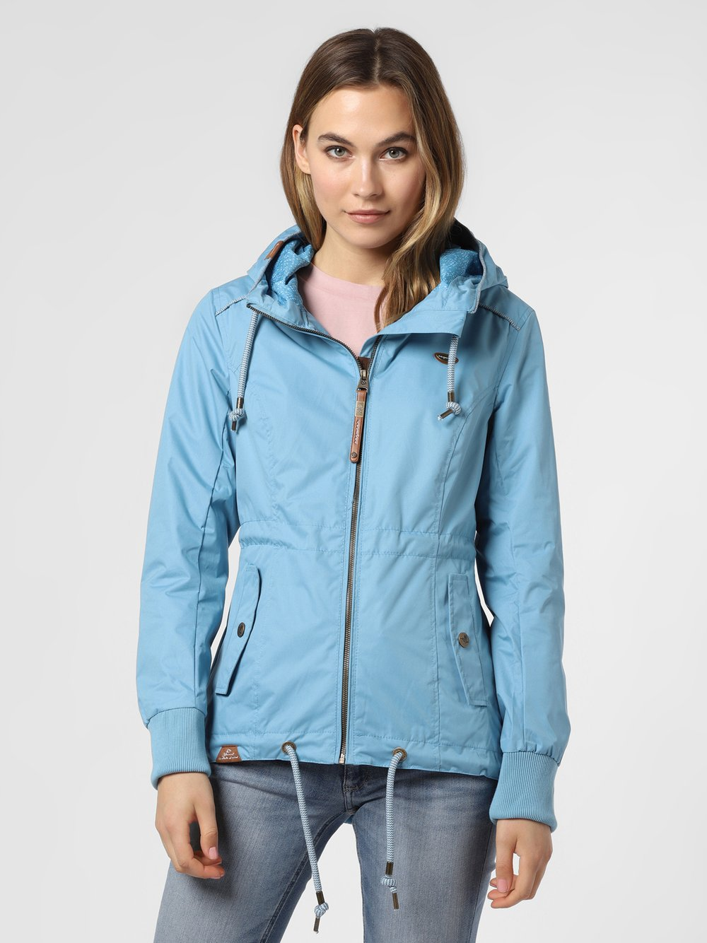 Ragwear – Kurtka damska – Danka, niebieski Van Graaf 475043-0001-09900