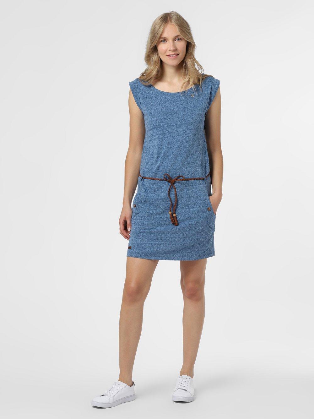 Ragwear – Damska sukienka – Tag, niebieski Van Graaf 475049-0001-09900