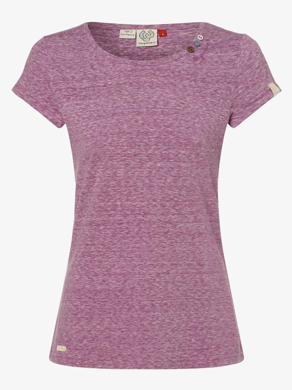 Ragwear – T-shirt damski – Mint, lila Van Graaf 475056-0002-09960