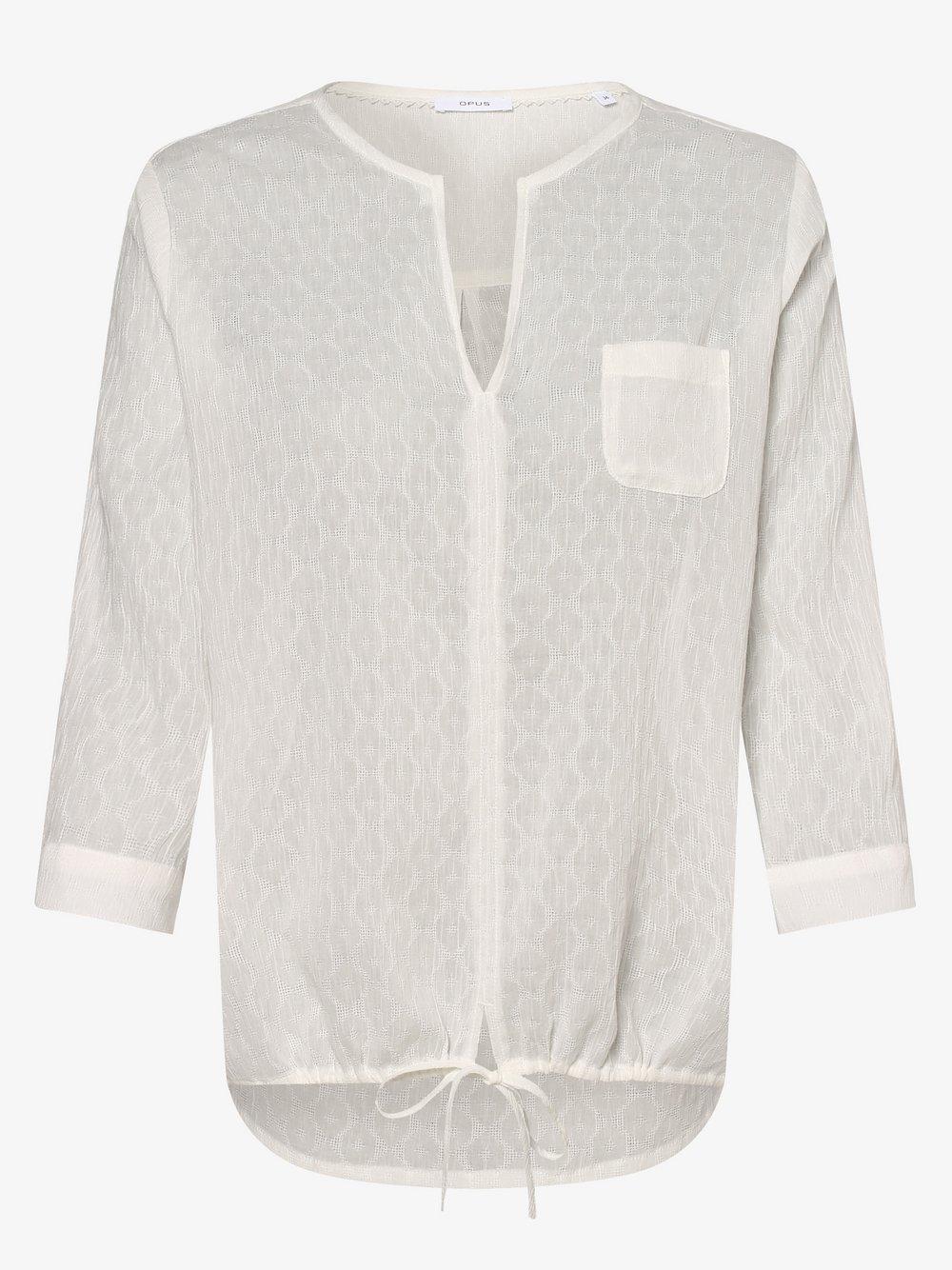 Opus – Bluzka damska – Fimo, beżowy Van Graaf 475162-0001-00440