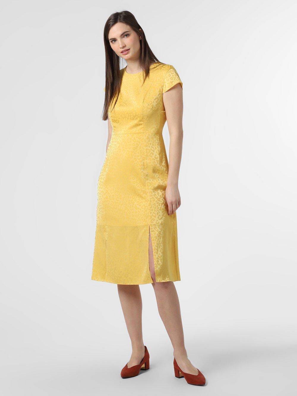 Ted Baker - Sukienka damska – Bellana, żółty
