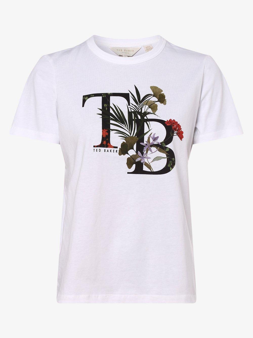 Ted Baker - T-shirt damski – Aymelia, biały
