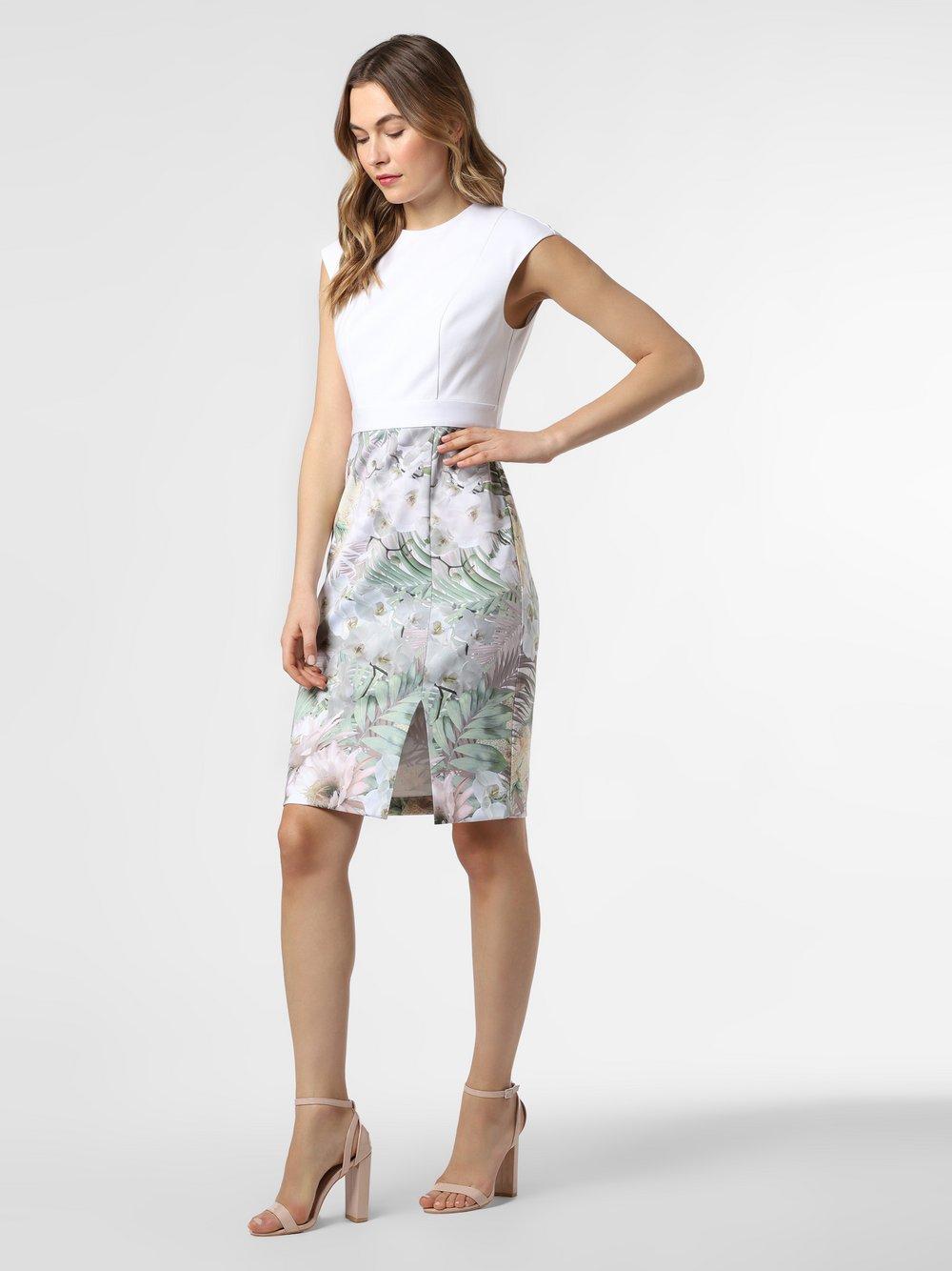 Ted Baker – Spodnie damskie – Hanalee, biały Van Graaf 475283-0001-00420