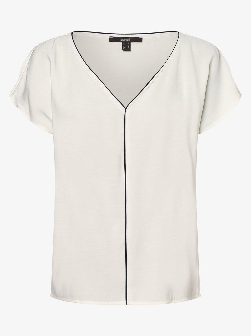 Esprit Collection – Bluzka damska, beżowy Van Graaf 475286-0001