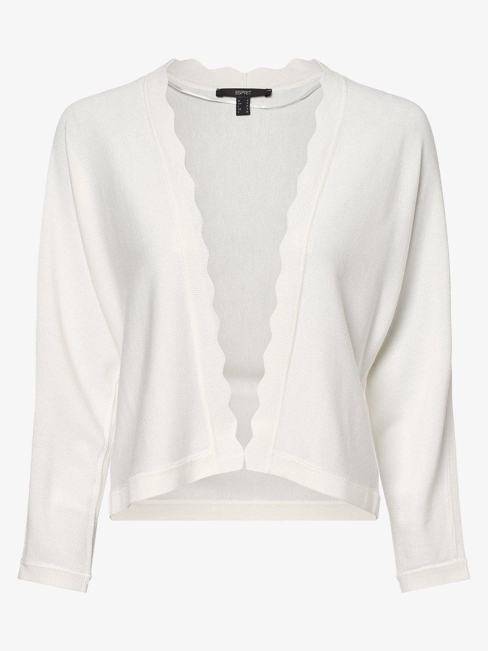 Esprit Collection – Dzianinowe wdzianko damskie, beżowy Van Graaf 475294-0002-09940