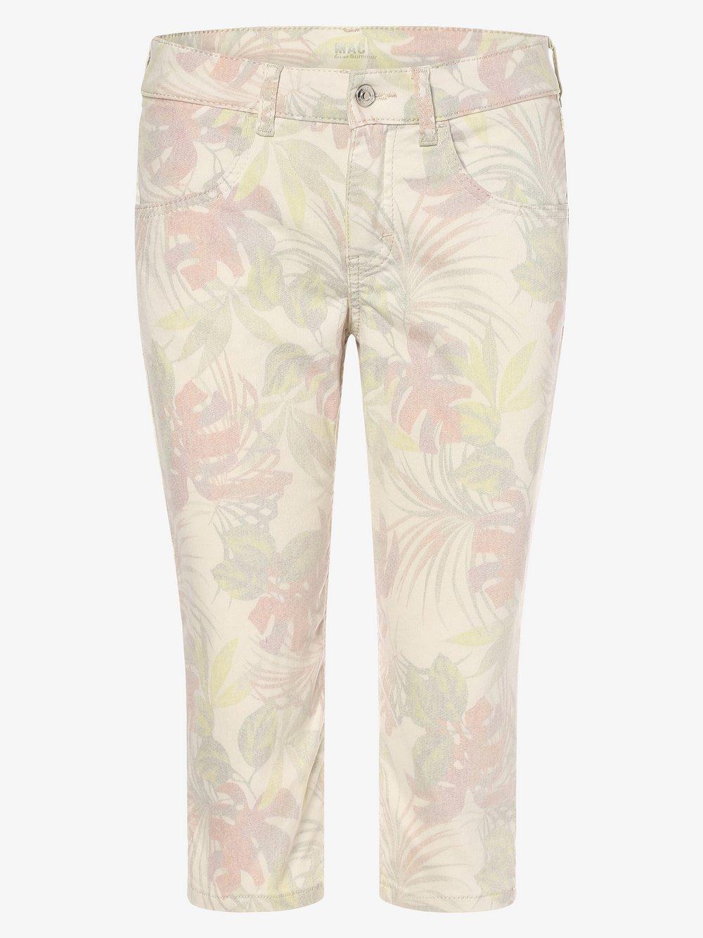 MAC - Spodnie damskie, biały
