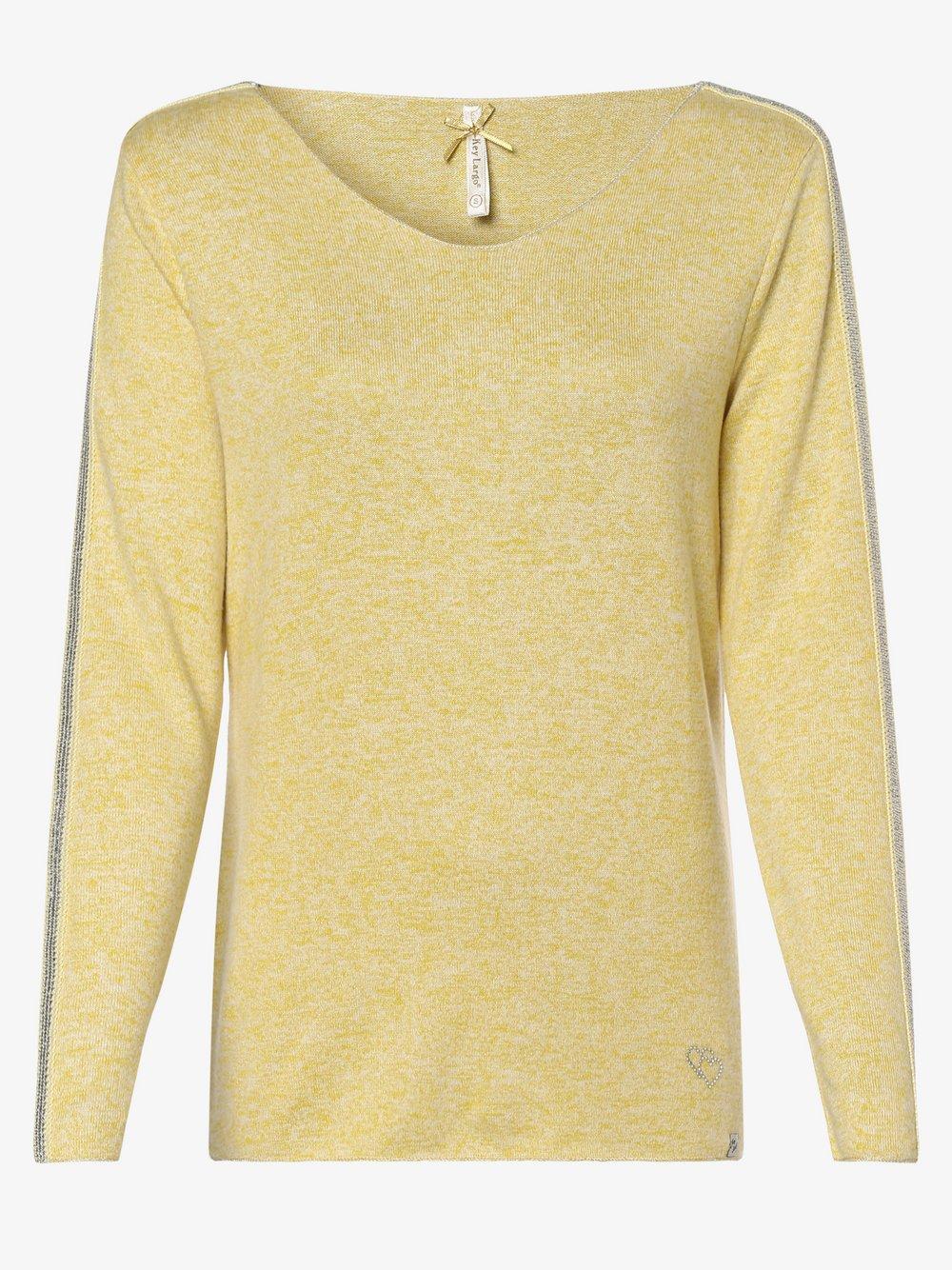 Key Largo - Sweter damski – Mona, żółty
