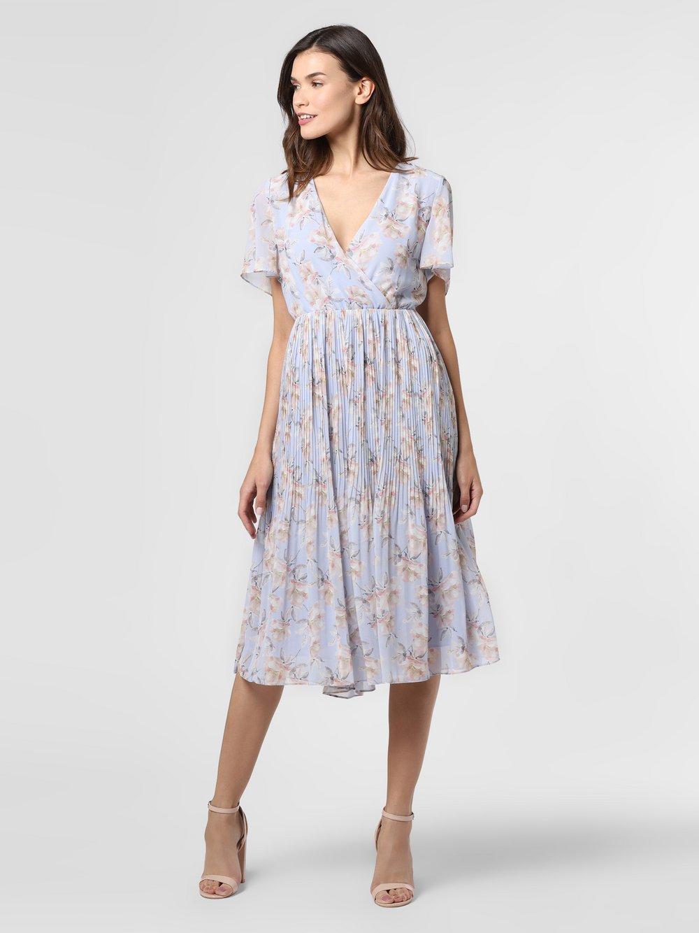 NA-KD – Sukienka damska, niebieski Van Graaf 475659-0001-00380