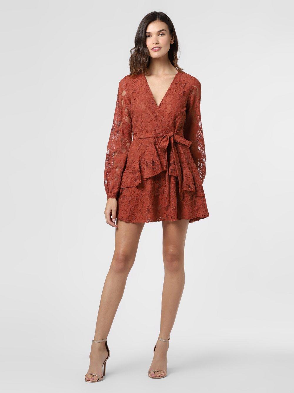 NA-KD – Sukienka damska, pomarańczowy Van Graaf 475661-0001