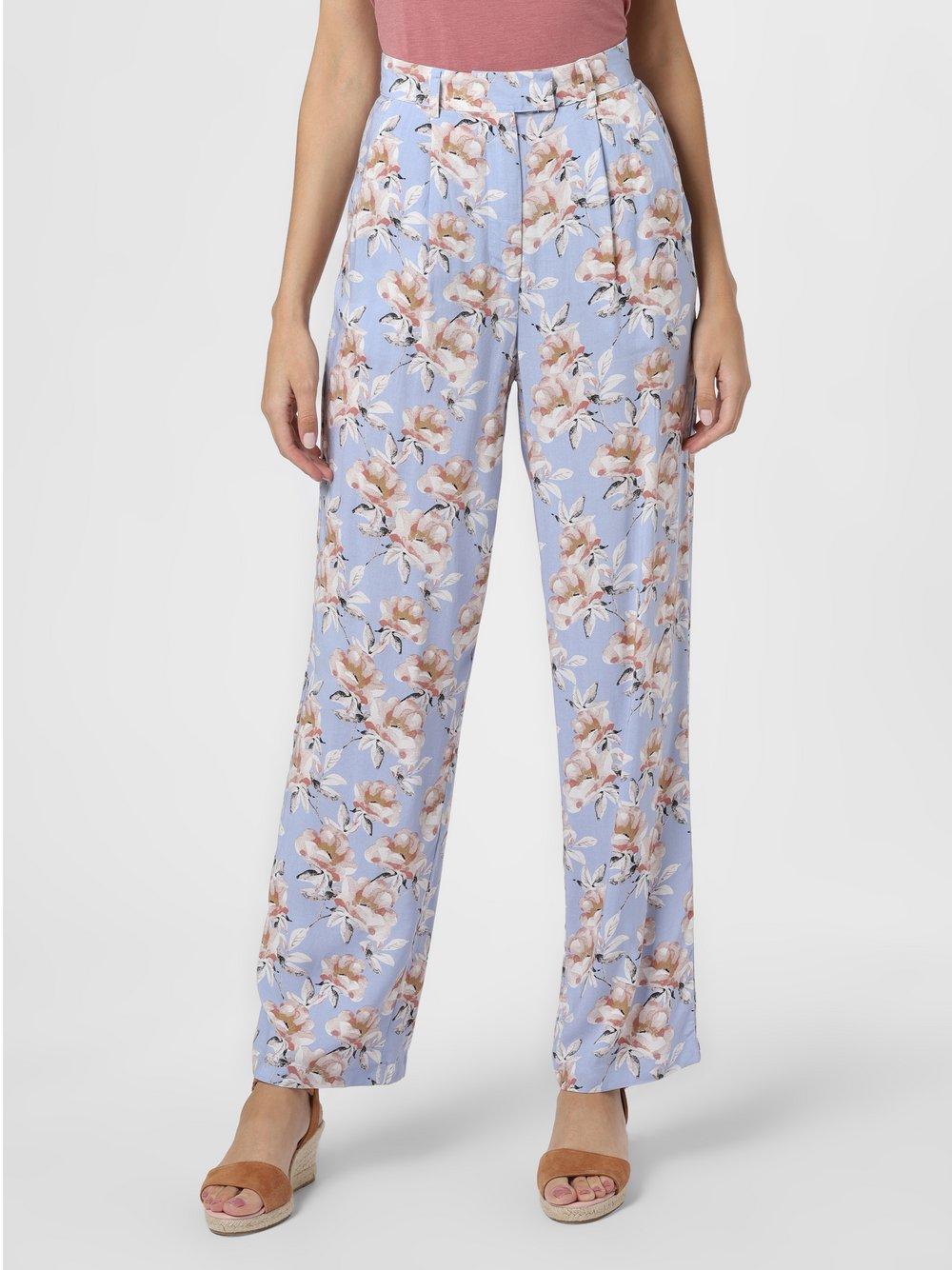 NA-KD – Spodnie damskie, niebieski Van Graaf 475664-0001-00360
