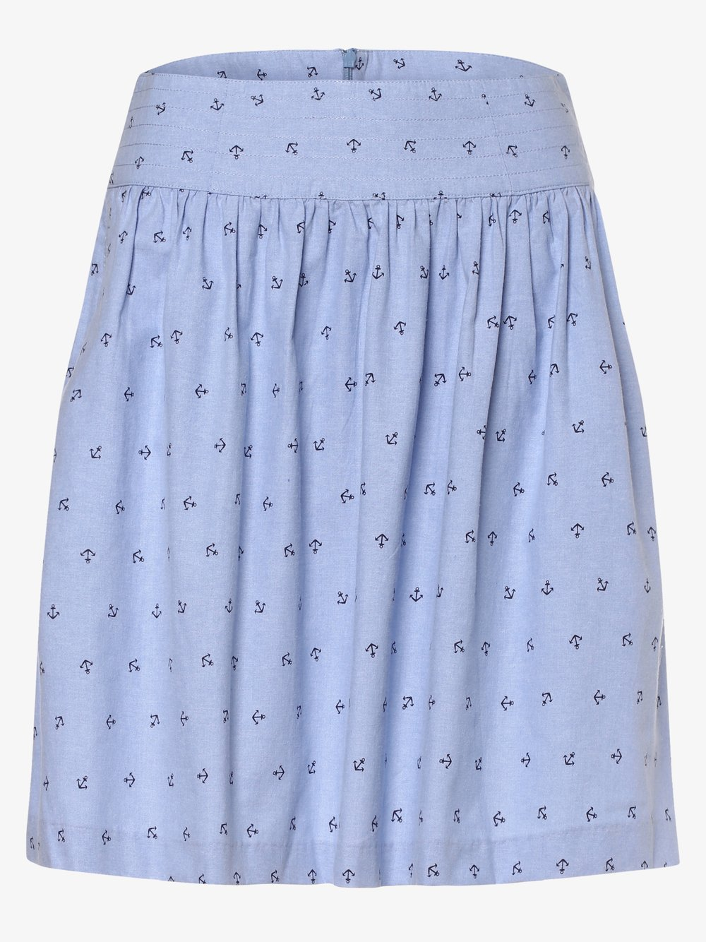 Marie Lund - Spódnica damska, niebieski