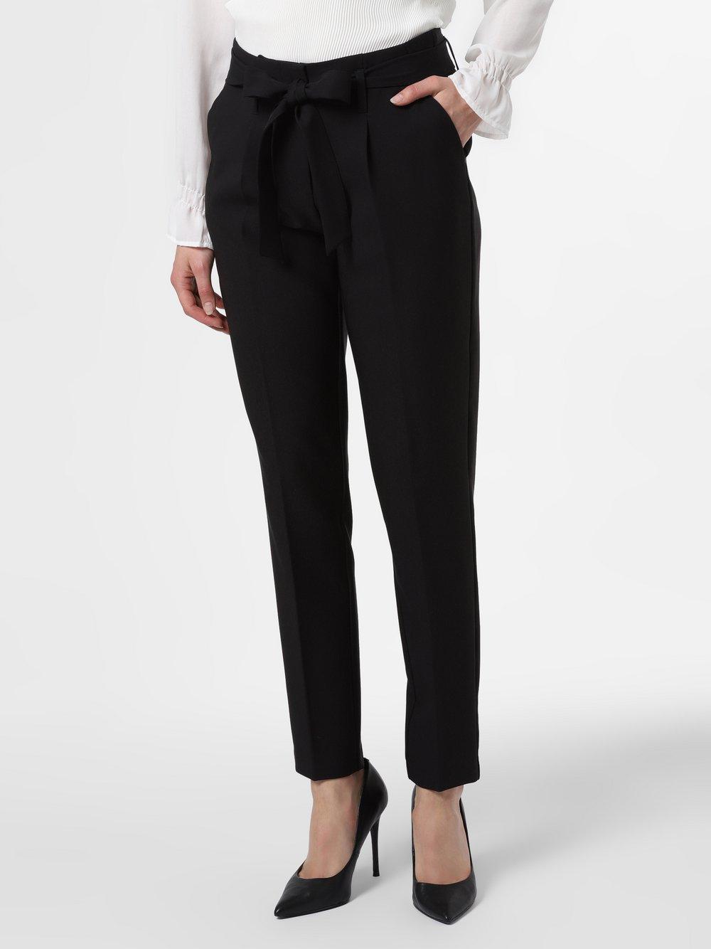 VG – Spodnie damskie, czarny Van Graaf 475841-0002-00400
