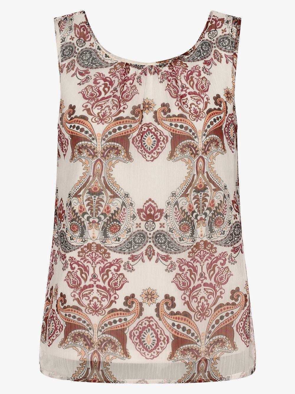 Vero Moda – Damska bluzka bez rękawów – VMKay, biały Van Graaf 475873-0001-09960