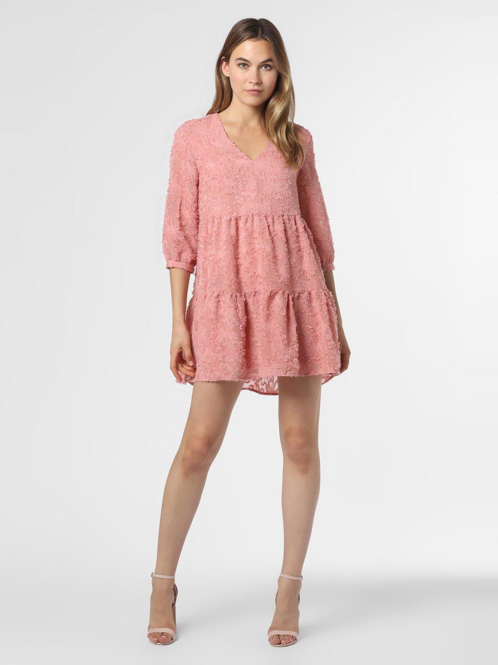 Vero Moda - Sukienka damska – VMLaura, różowy