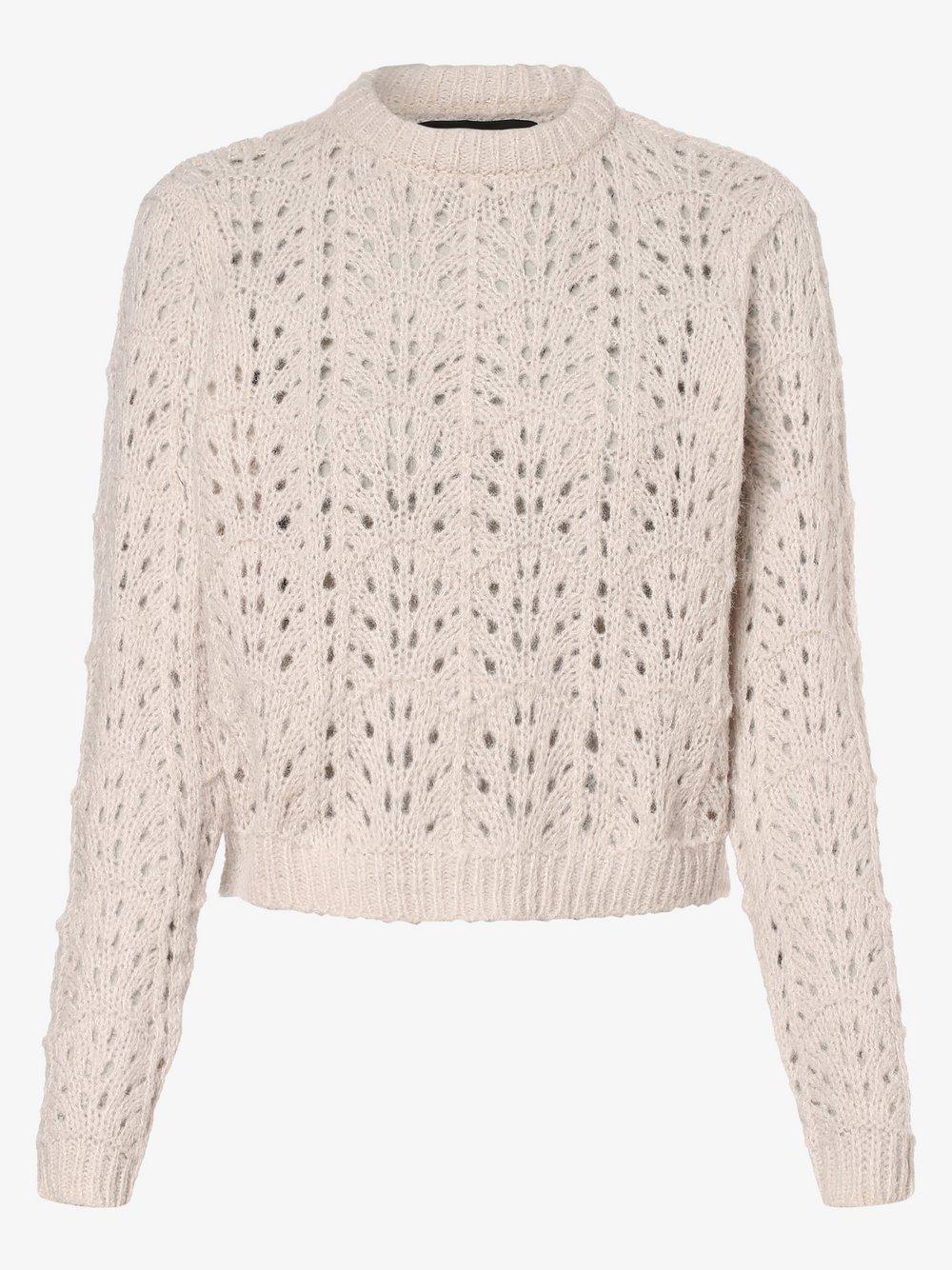 Vero Moda - Sweter damski – VMNewwine, beżowy