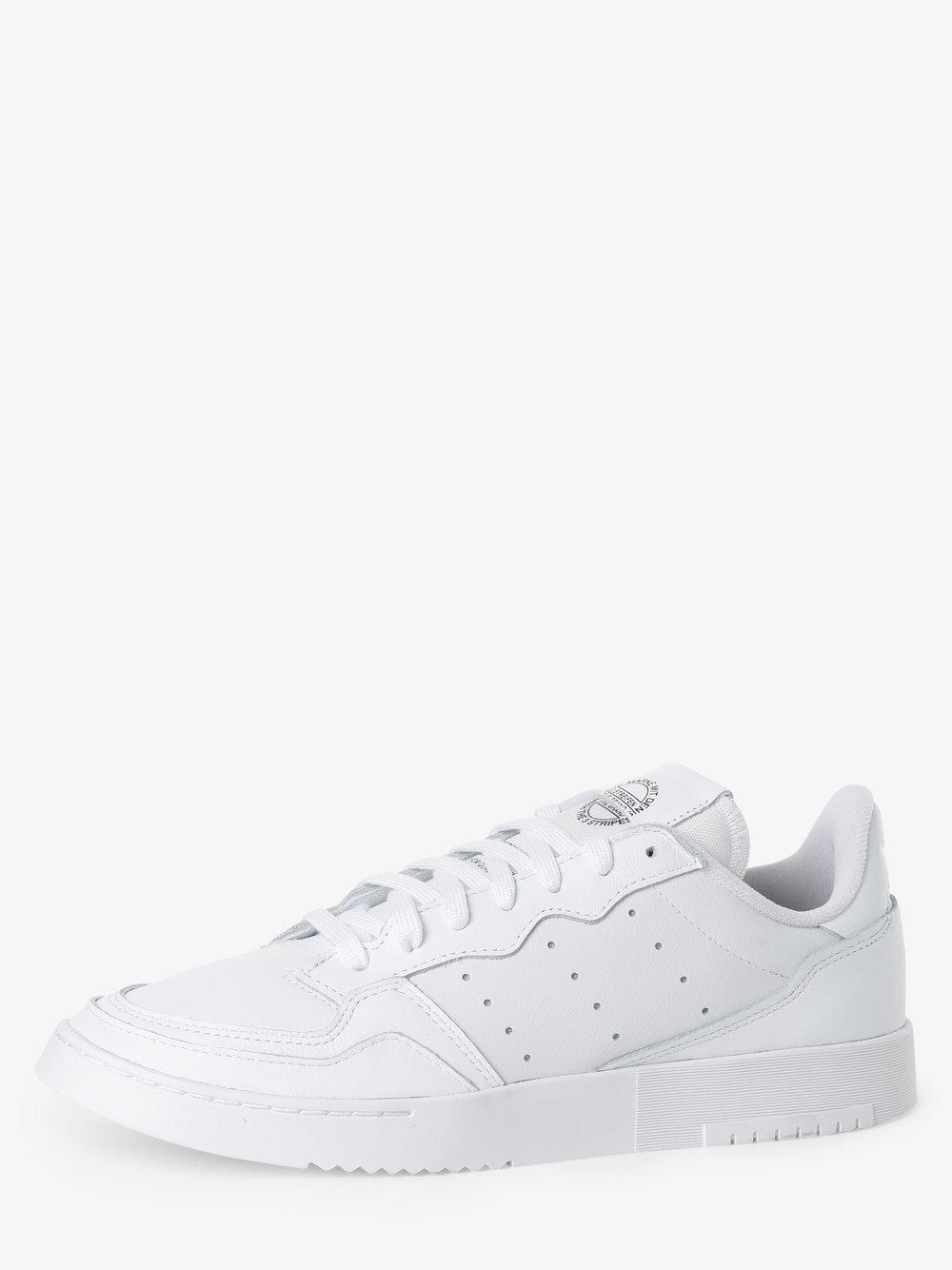 adidas Originals - Damskie tenisówki ze skóry – Supercourt, biały