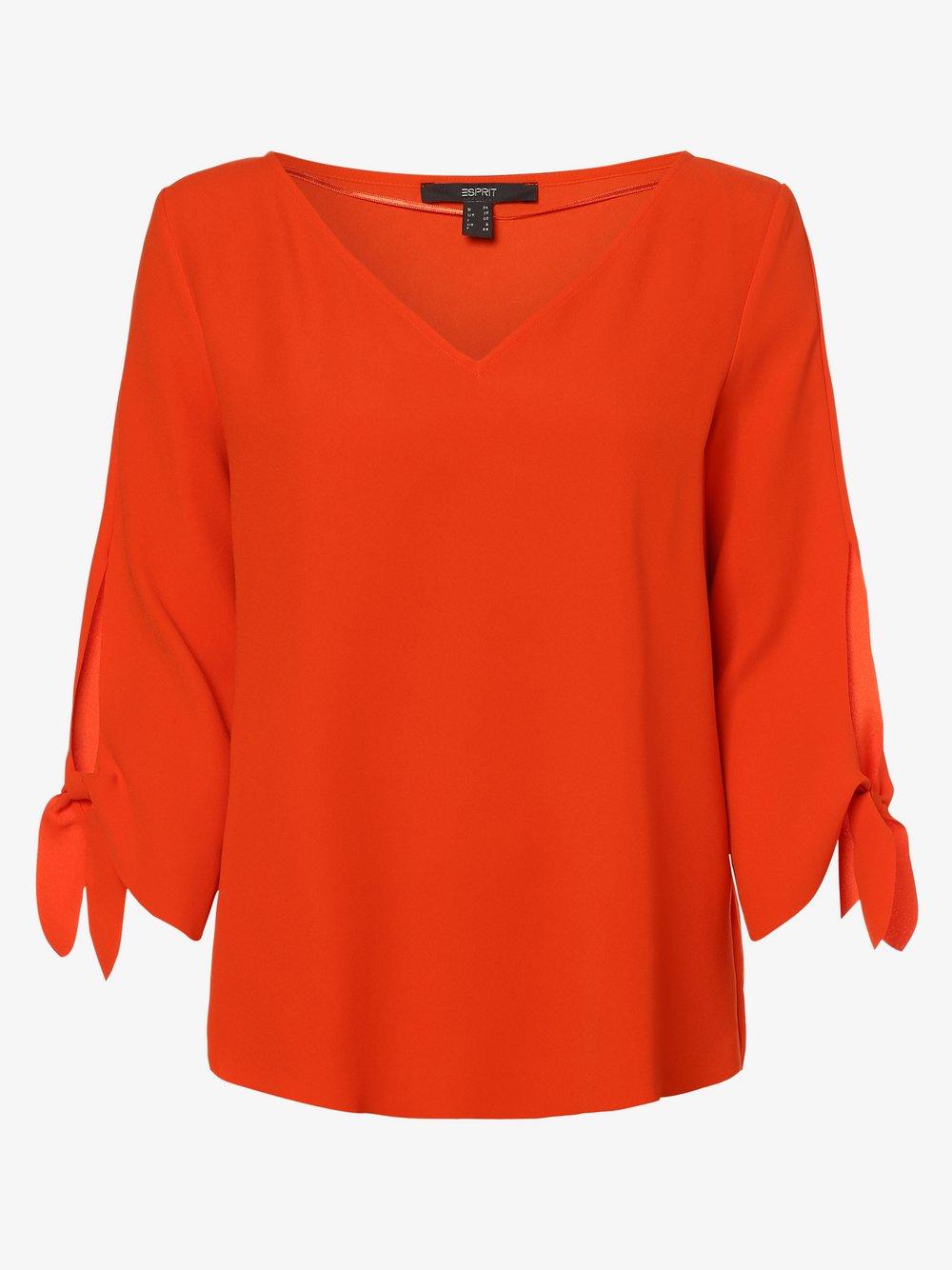 Esprit Collection – Bluzka damska, czerwony Van Graaf 476662-0001