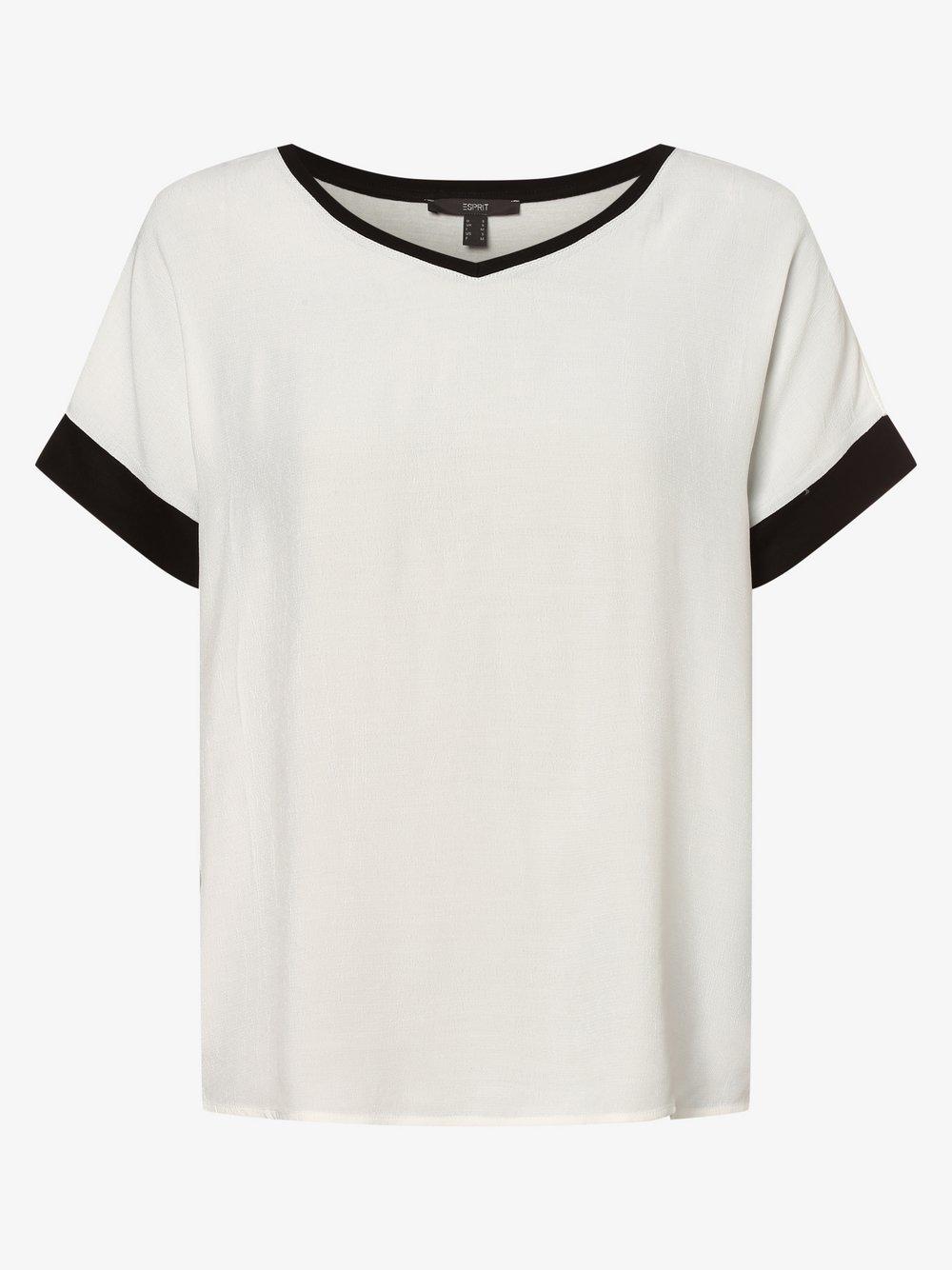Esprit Collection - Bluzka damska, beżowy