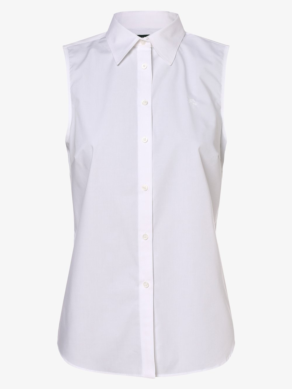 Lauren Ralph Lauren – Bluzka damska niewymagająca prasowania, biały Van Graaf 476828-0001-09970