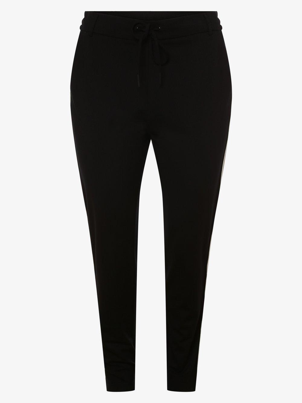 ONLY Carmakoma – Spodnie damskie – Cargoldtrash, czarny Van Graaf 476885-0001