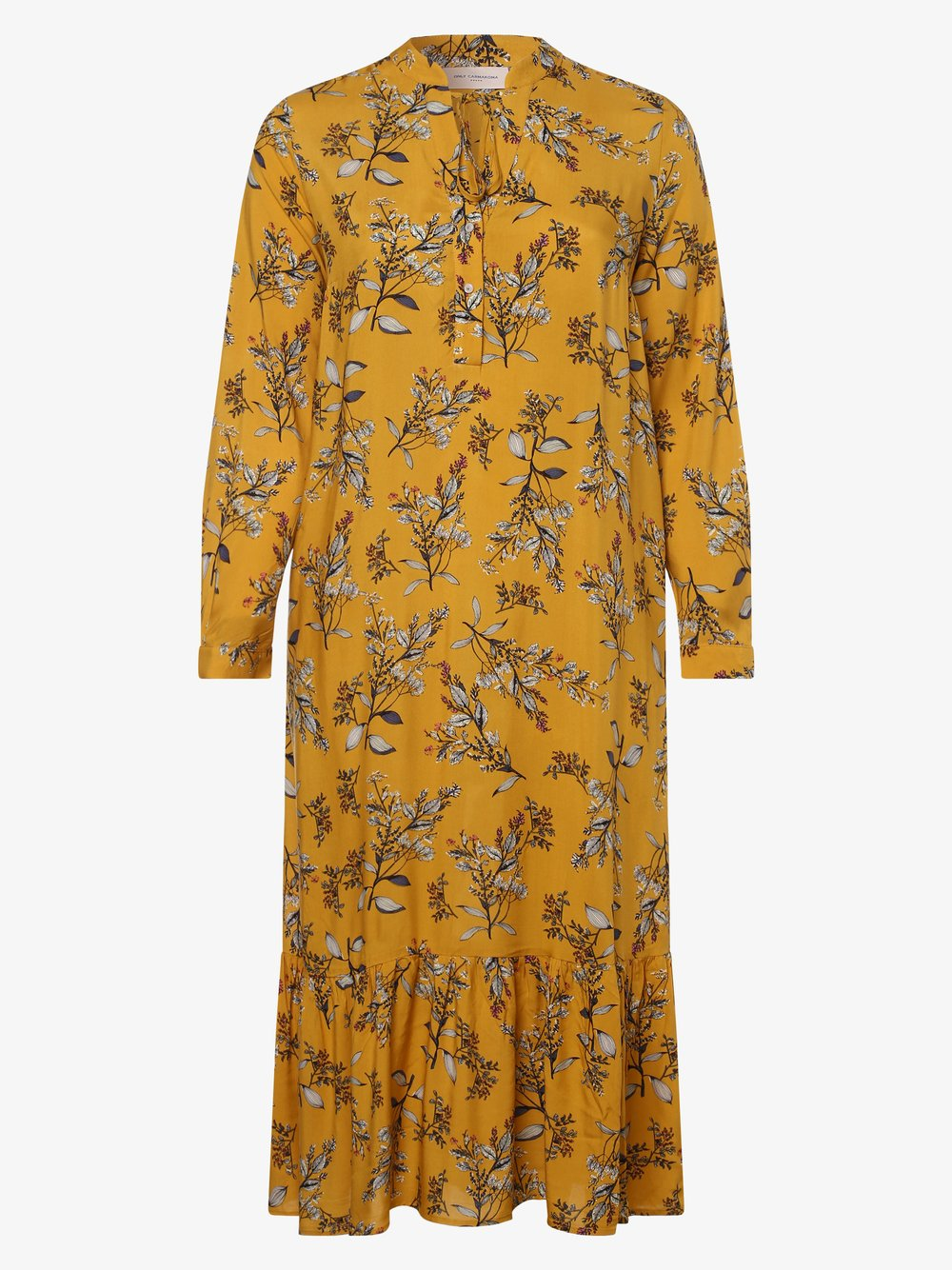ONLY Carmakoma – Sukienka damska – Carspringi, złoty Van Graaf 476886-0001