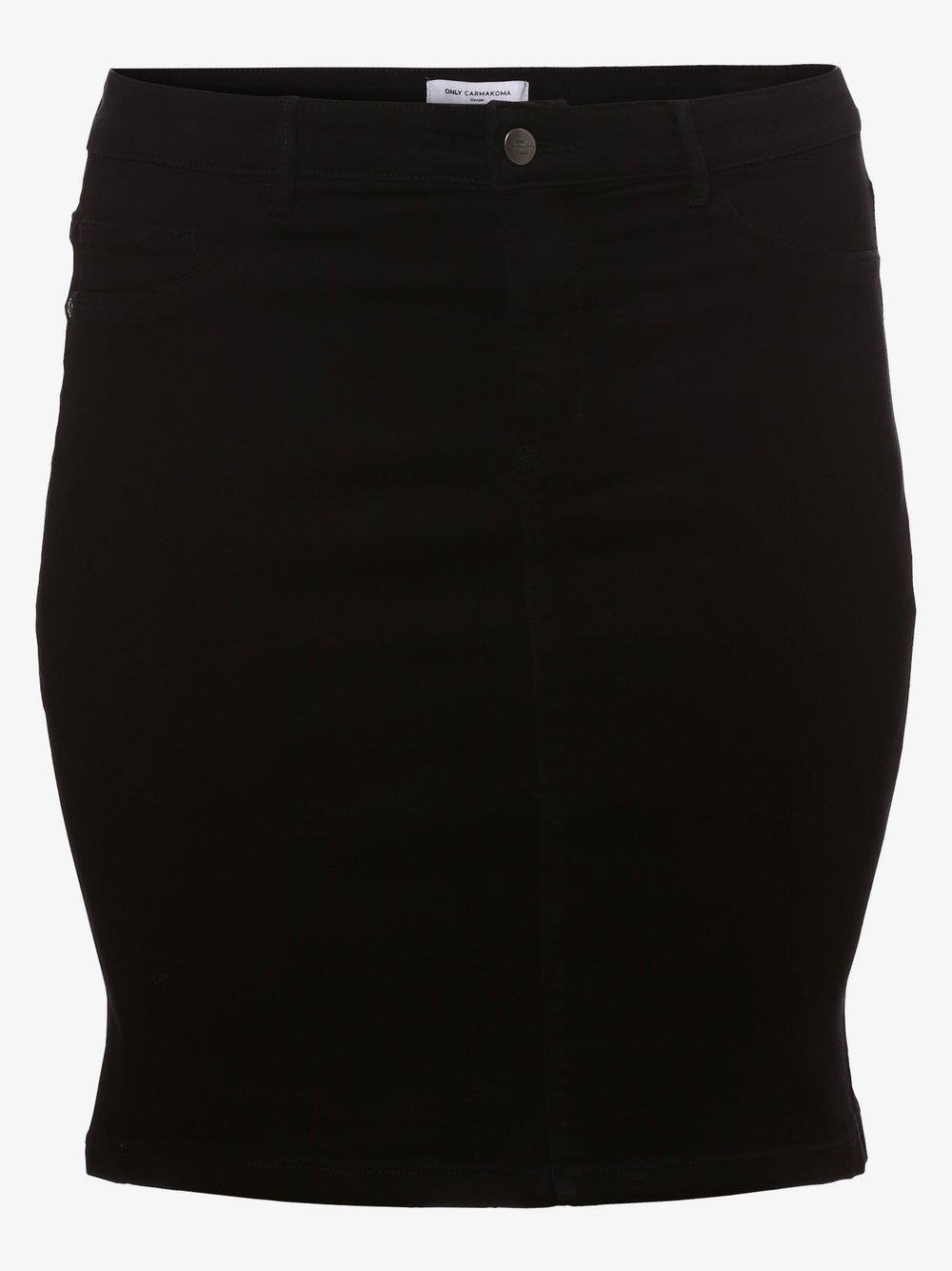 ONLY Carmakoma – Spódnica damska – Carthunder, czarny Van Graaf 476889-0001-00540