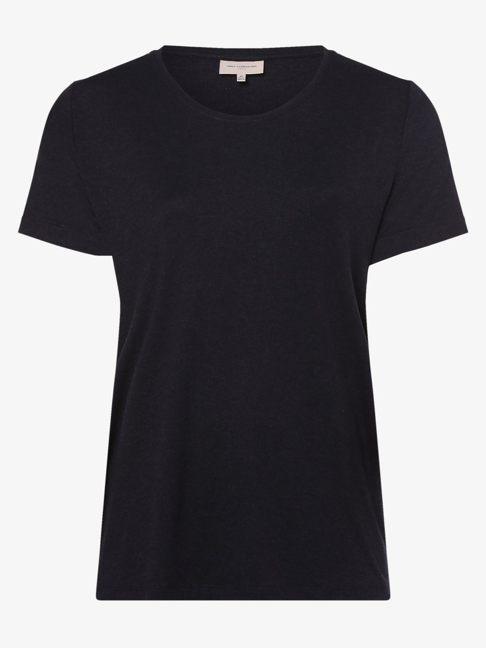 ONLY Carmakoma – T-shirt damski – Carcarmakoma, niebieski Van Graaf 476893-0002-00540