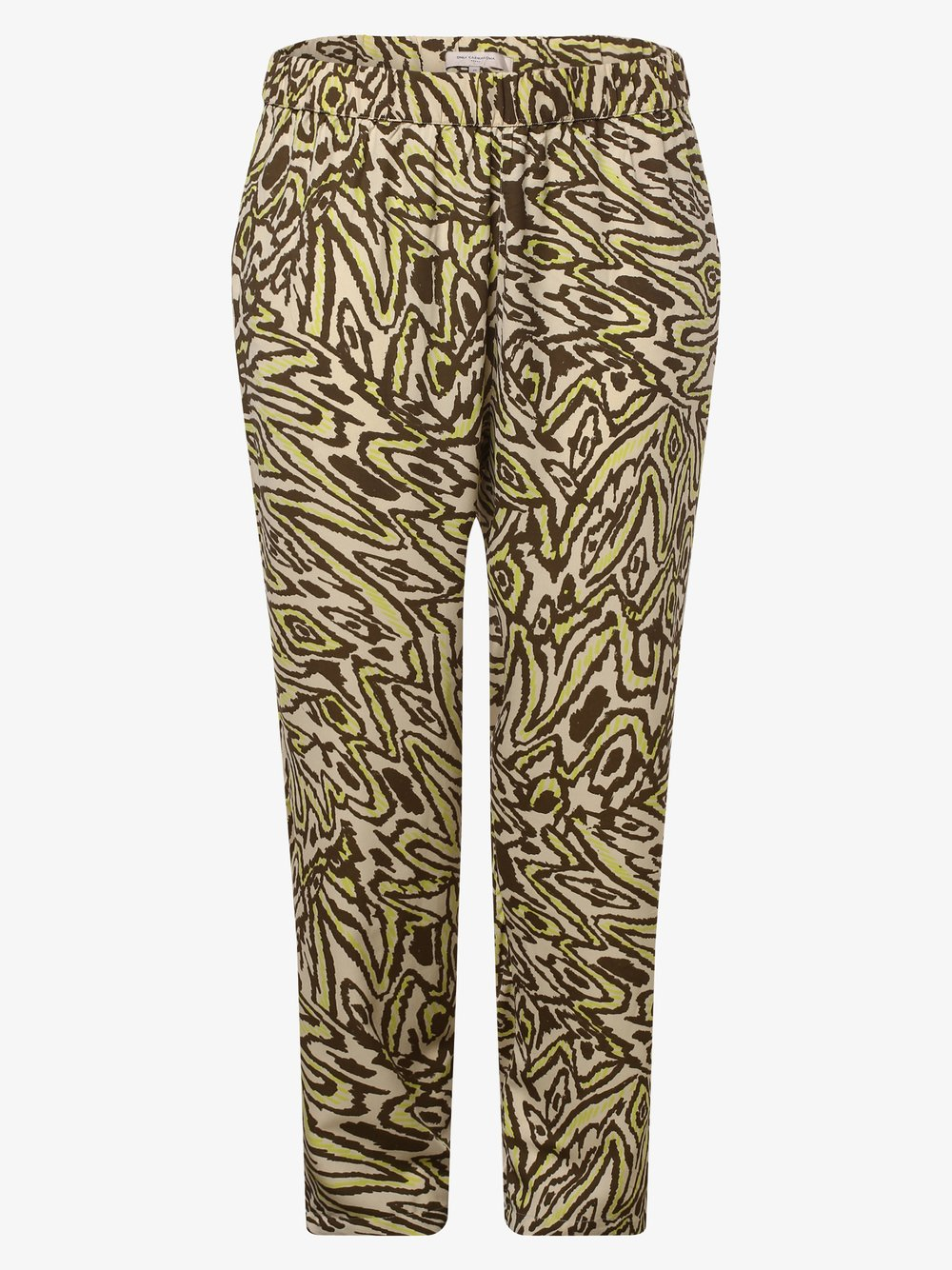 ONLY Carmakoma – Spodnie damskie – Cartriple, beżowy Van Graaf 476899-0001-00500
