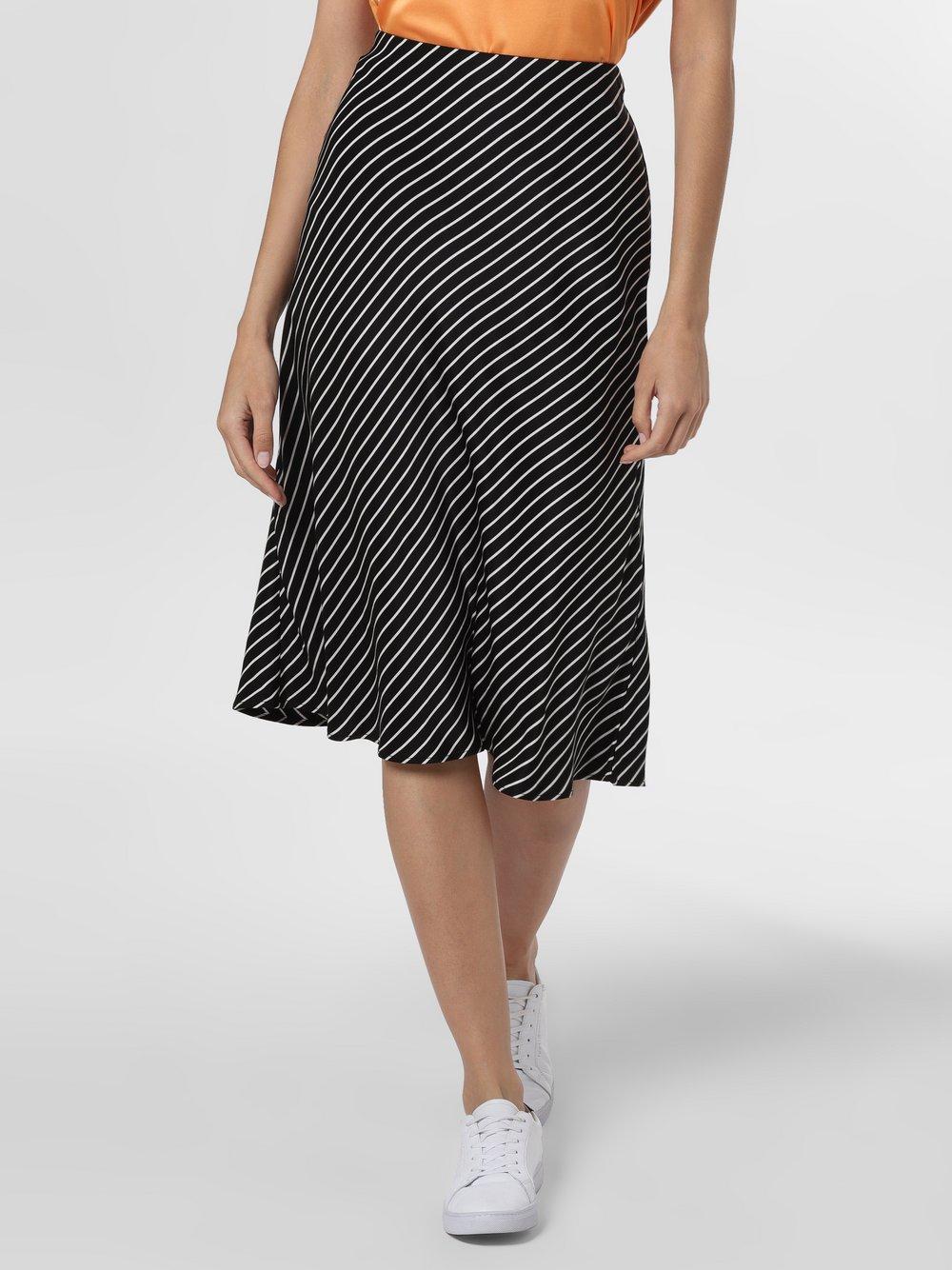 Someday - Spódnica damska – Odile Stripe, czarny
