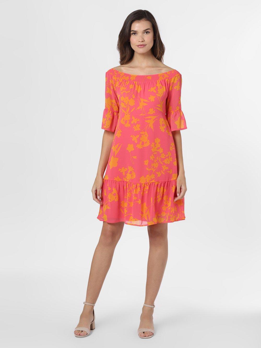 comma - Sukienka damska, pomarańczowy