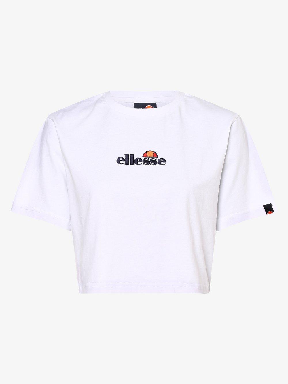 ellesse - T-shirt damski – Fireball, biały