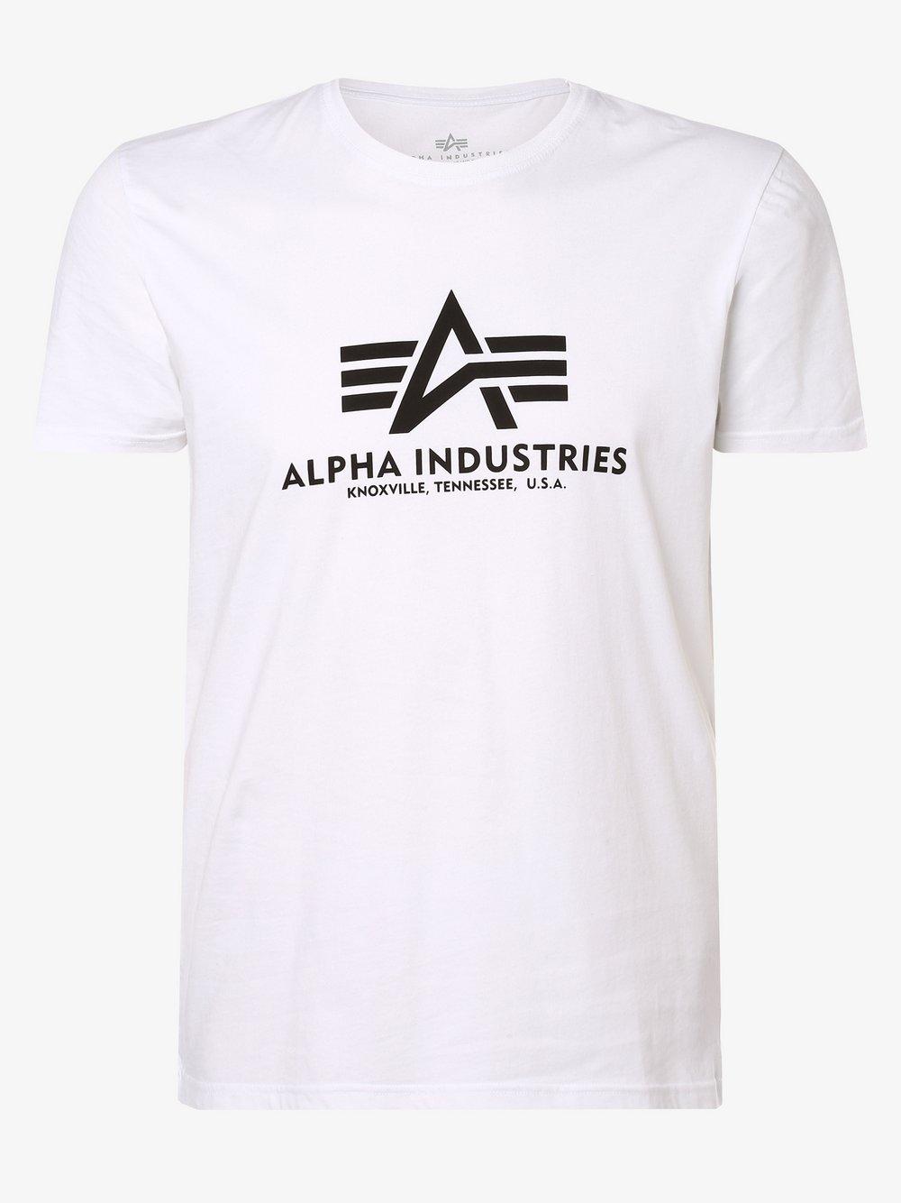 Alpha Industries - T-shirt męski, biały