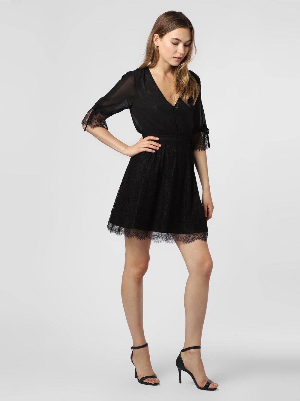 NIKKIE – Sukienka damska – Flora, czarny Van Graaf 477618-0001-00340