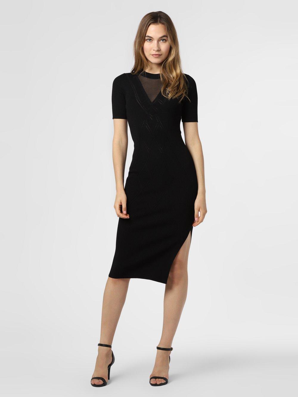 NIKKIE – Sukienka damska – Gigi, czarny Van Graaf 477620-0001-00380