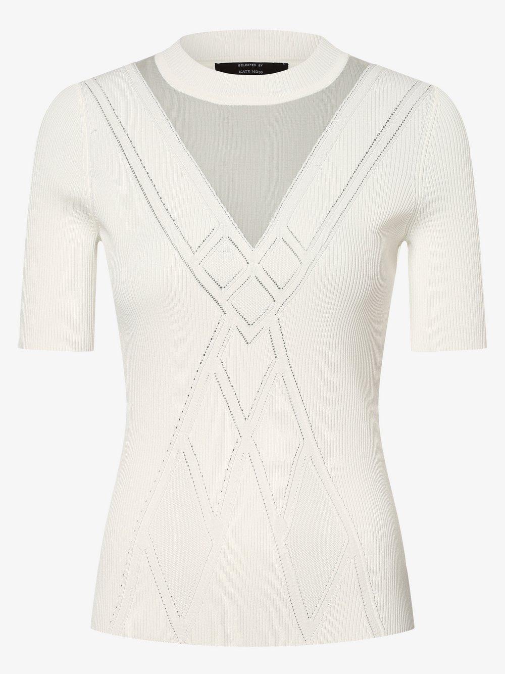 NIKKIE – Koszulka damska – Gigi, biały Van Graaf 477629-0002-00380