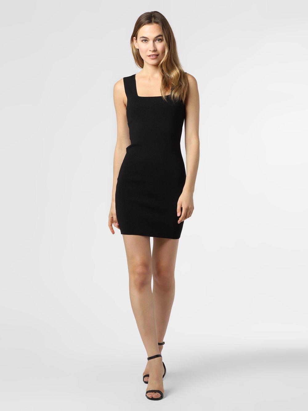 NIKKIE – Sukienka damska – Jolie, czarny Van Graaf 477631-0001-00400