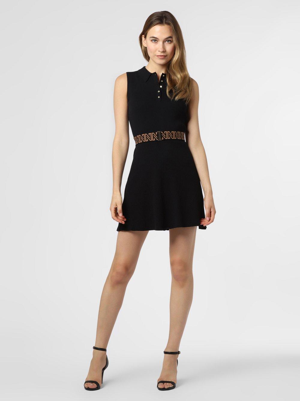 NIKKIE – Sukienka damska – Penny, czarny Van Graaf 477632-0001-00340