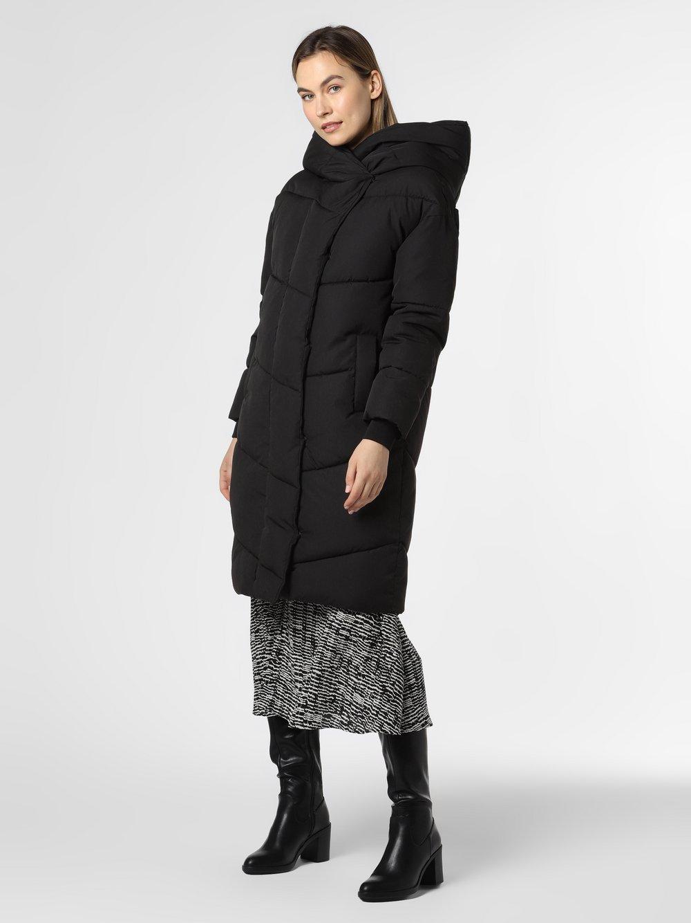 Noisy May - Damski płaszcz pikowany – Tally, czarny