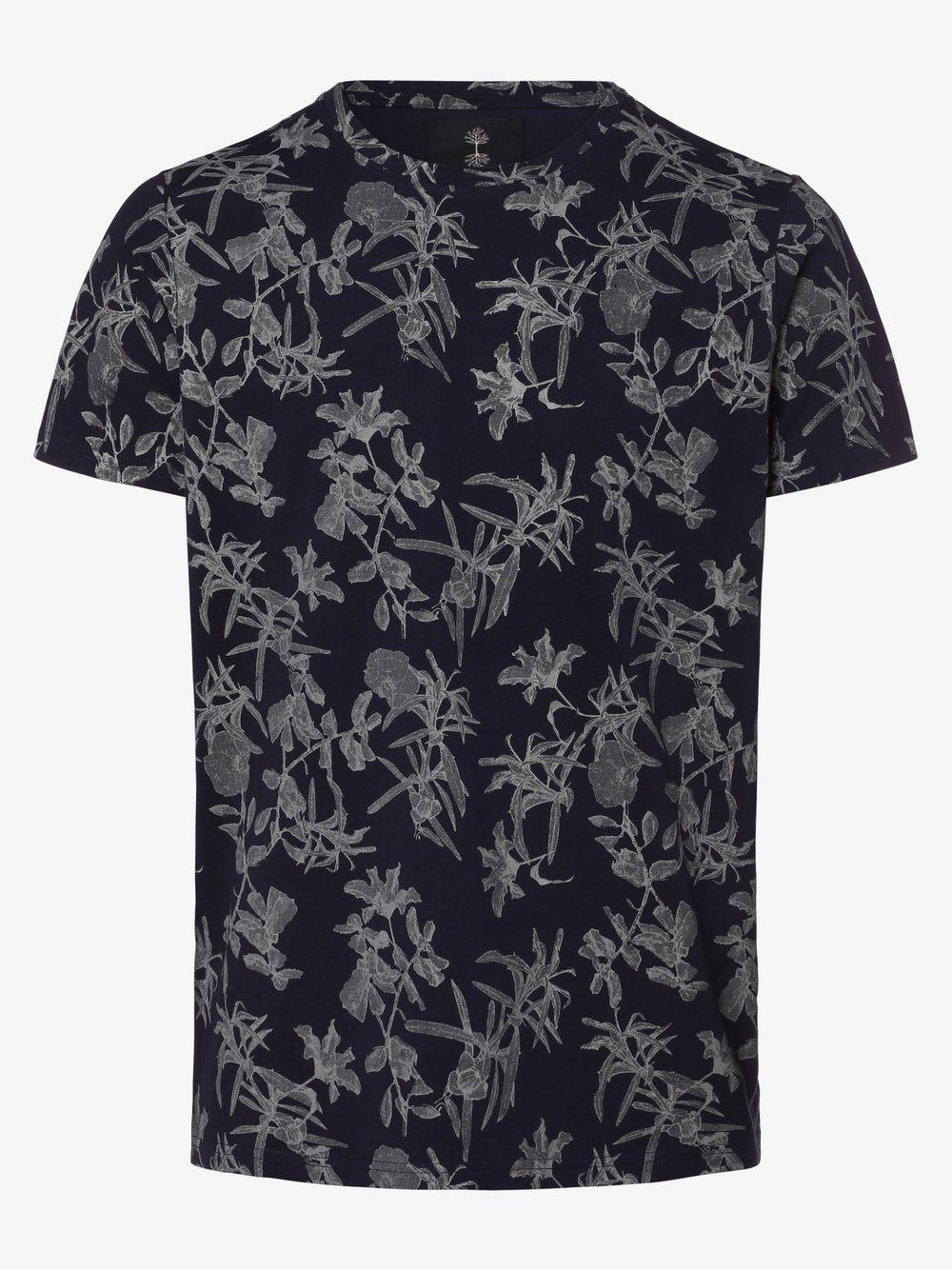 nerve – T-shirt męski – NEJannik, niebieski Van Graaf 477810-0001