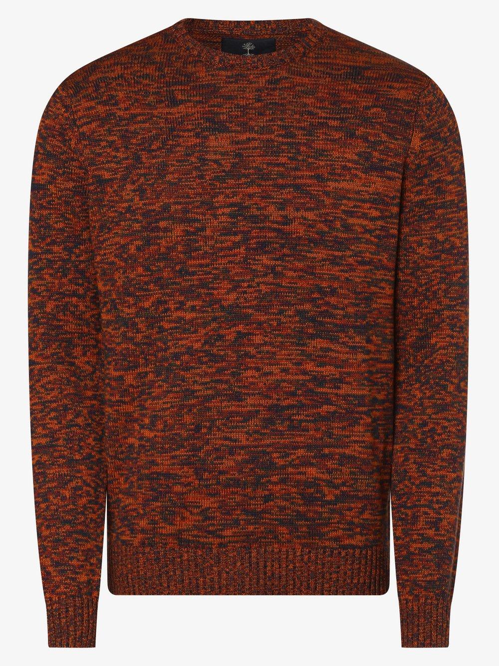 nerve – Sweter męski – NEGrayson, szary Van Graaf 477816-0001-09900