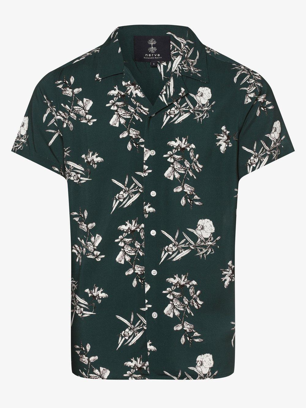 nerve – Koszula męska – NESerge, różowy Van Graaf 477820-0001-09970