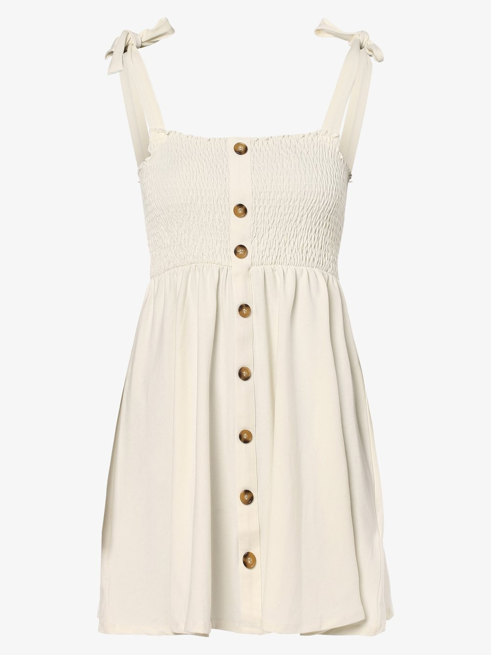 NA-KD – Sukienka damska, biały Van Graaf 477864-0001-09900
