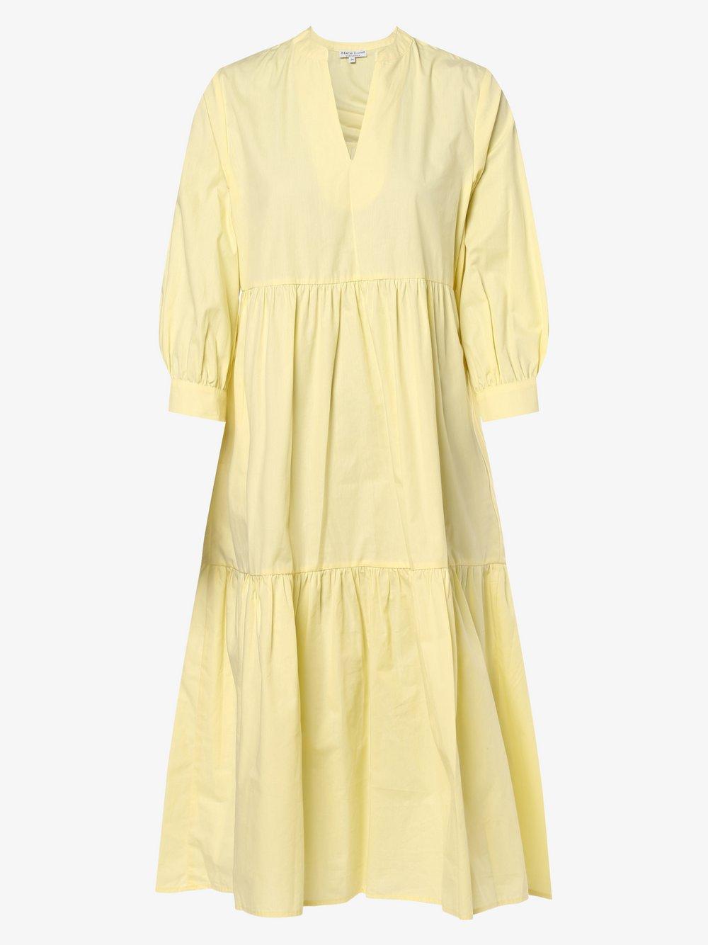 Marie Lund - Sukienka damska, żółty